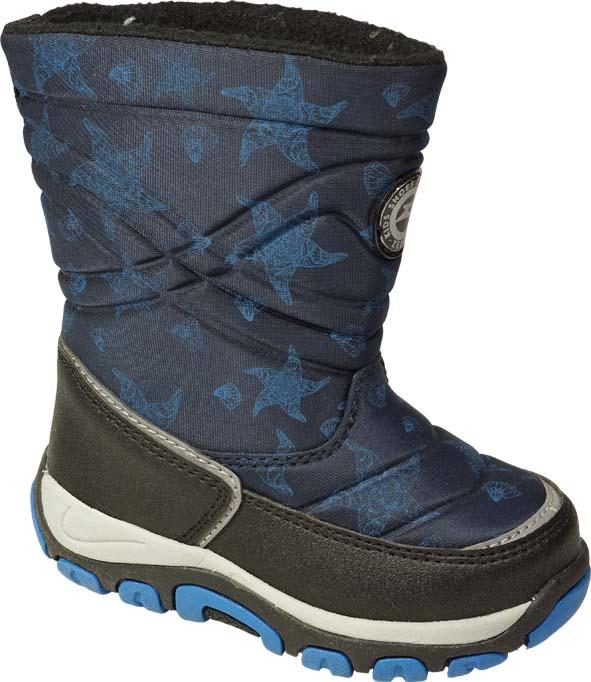 Сапоги Зебра 11006-5 синий