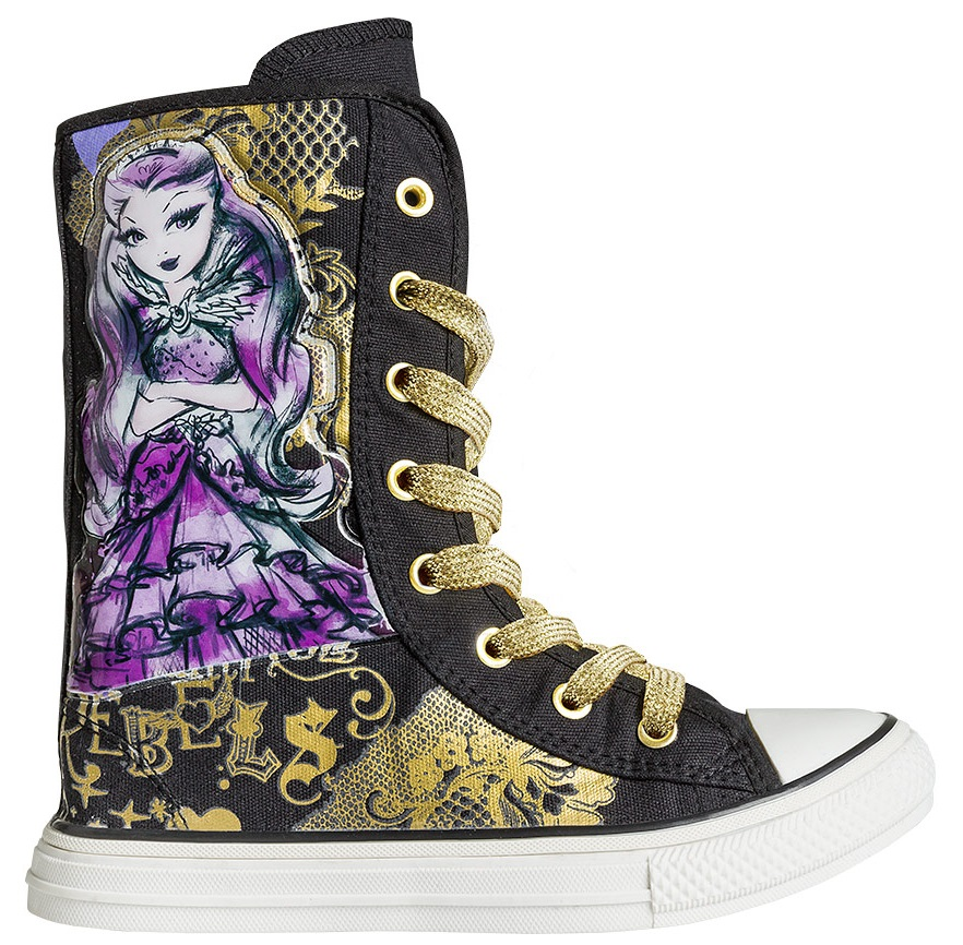 "Кеды CROSSWAY ""EVER AFTER HIGH"" 5496А черный"