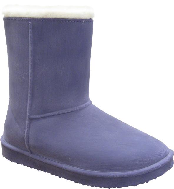 Сноубутсы Зебра 11400-26 фиолетовый