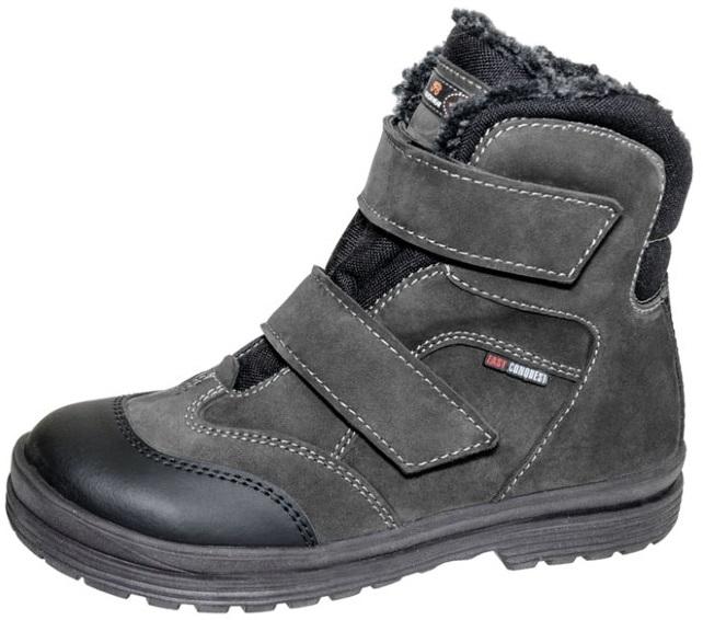 Ботинки зим. Лель 7-572 М черный